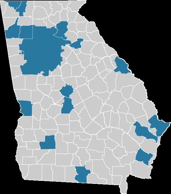 Georgia MPO Map